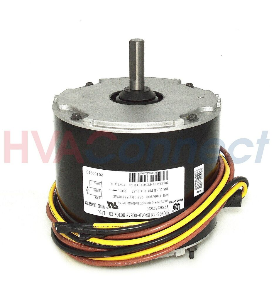 Oem carrier bryant payne a c condenser fan motor 1 4 hp for What is a motor carrier