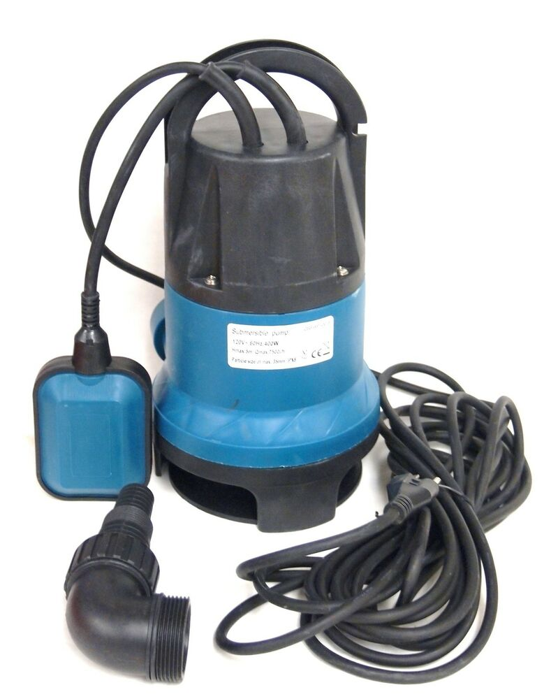 Submersible Water Pump 3 4 Hp 14400 L H Trash Clean Water