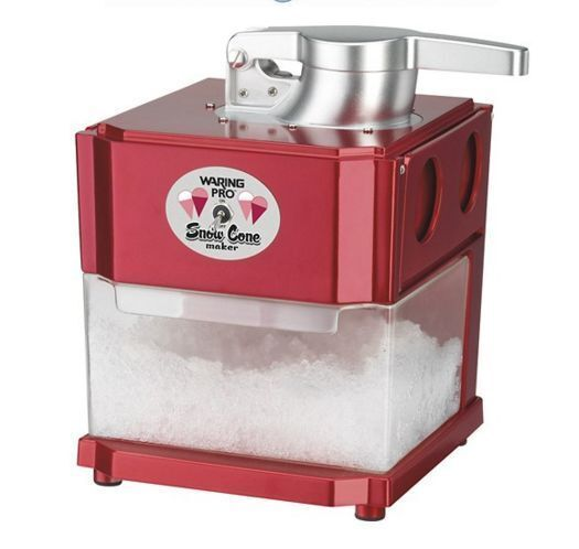 The Russian professional shaved ice machine ans que