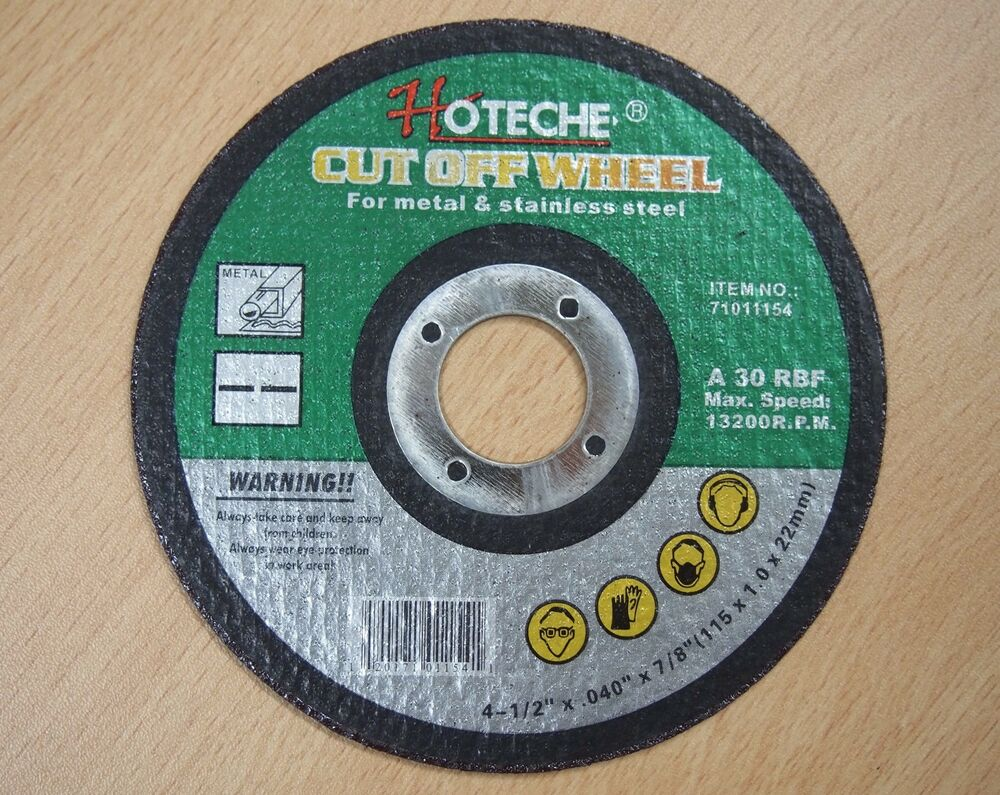 Lot Of 200 4 1 2 Quot X 040 Quot X 7 8 Quot Cut Off Wheel Cut Metal