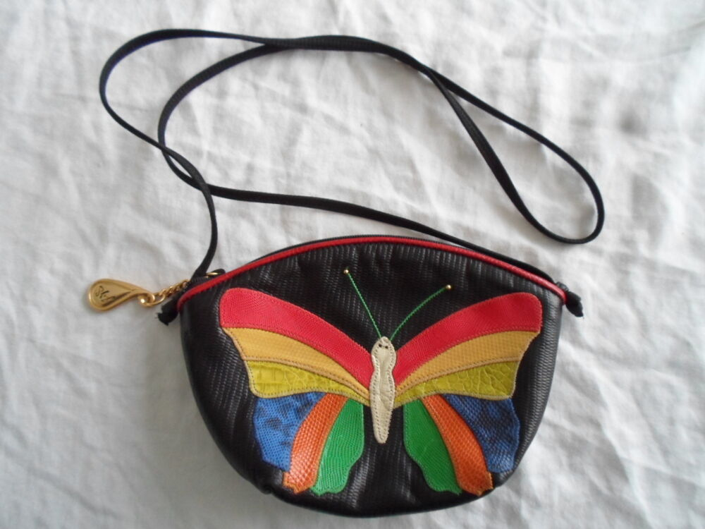 Accents by Sharif Butterfly Crossbody Shoulder Purse Small ...