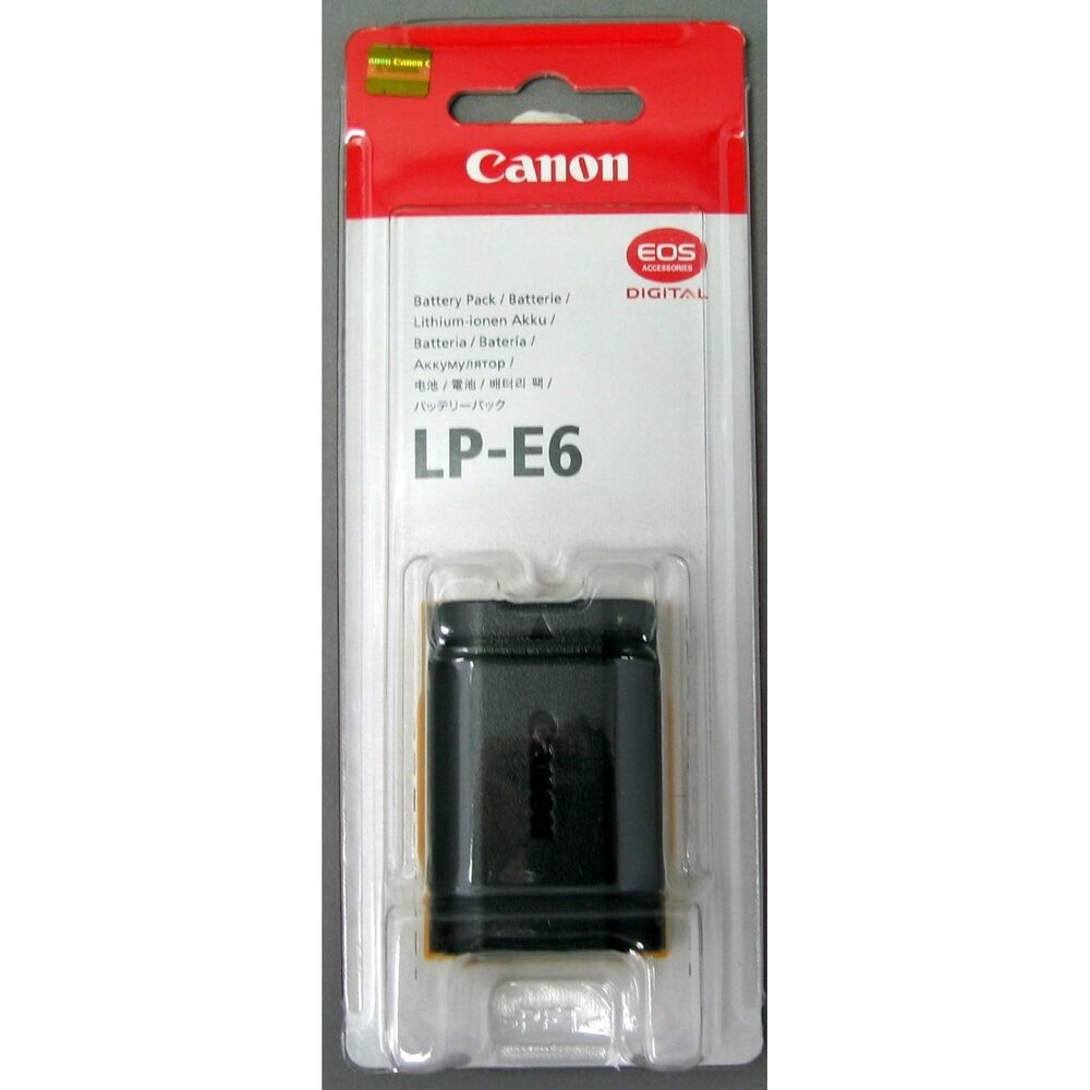 Genuine Canon Battery Pack Lp E6 For Canon Eos 5d Mark Ii