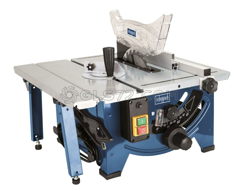 Scheppach hs80 240v 8 034 bench top table sawbench c w for 10 13 amp industrial bench table saw