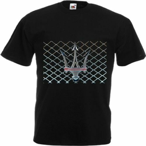 New t shirt luxury sport and style cars maserati dtg for Luxury t shirt printing
