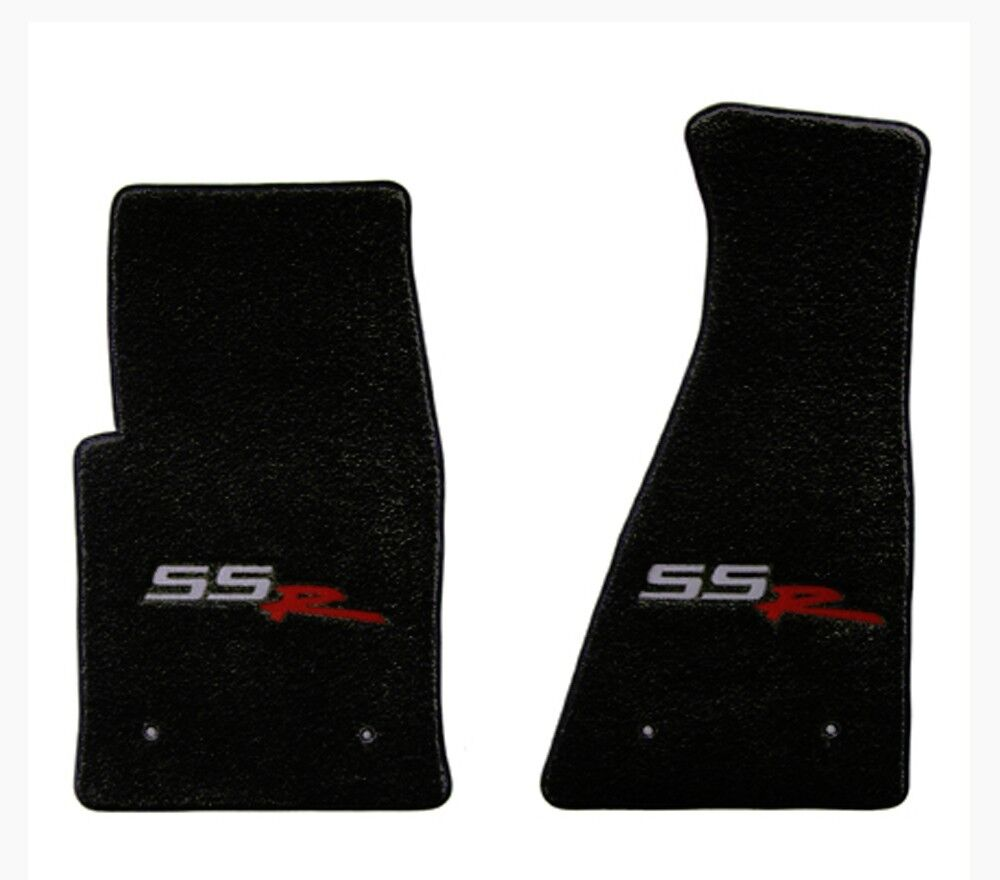 NEW! FRONT FLOOR MATS 2003-2006 CHEVY SSR EMBROIDERED LOGO