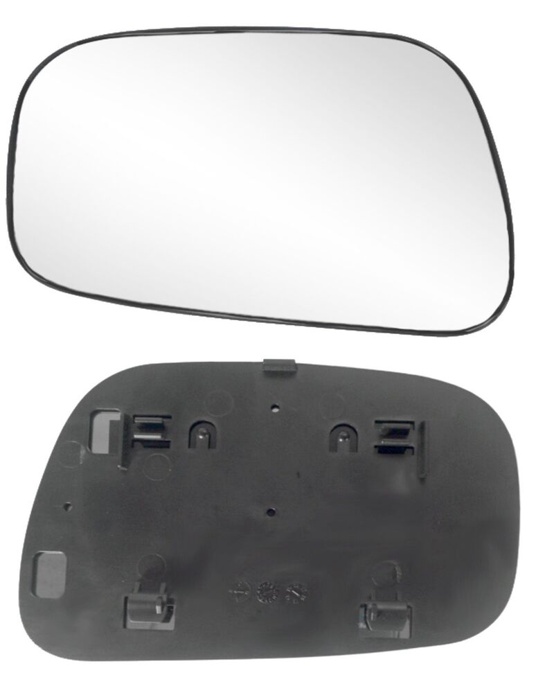 2002 2006 toyota camry sedan driver side power mirror glass with backing plate ebay. Black Bedroom Furniture Sets. Home Design Ideas