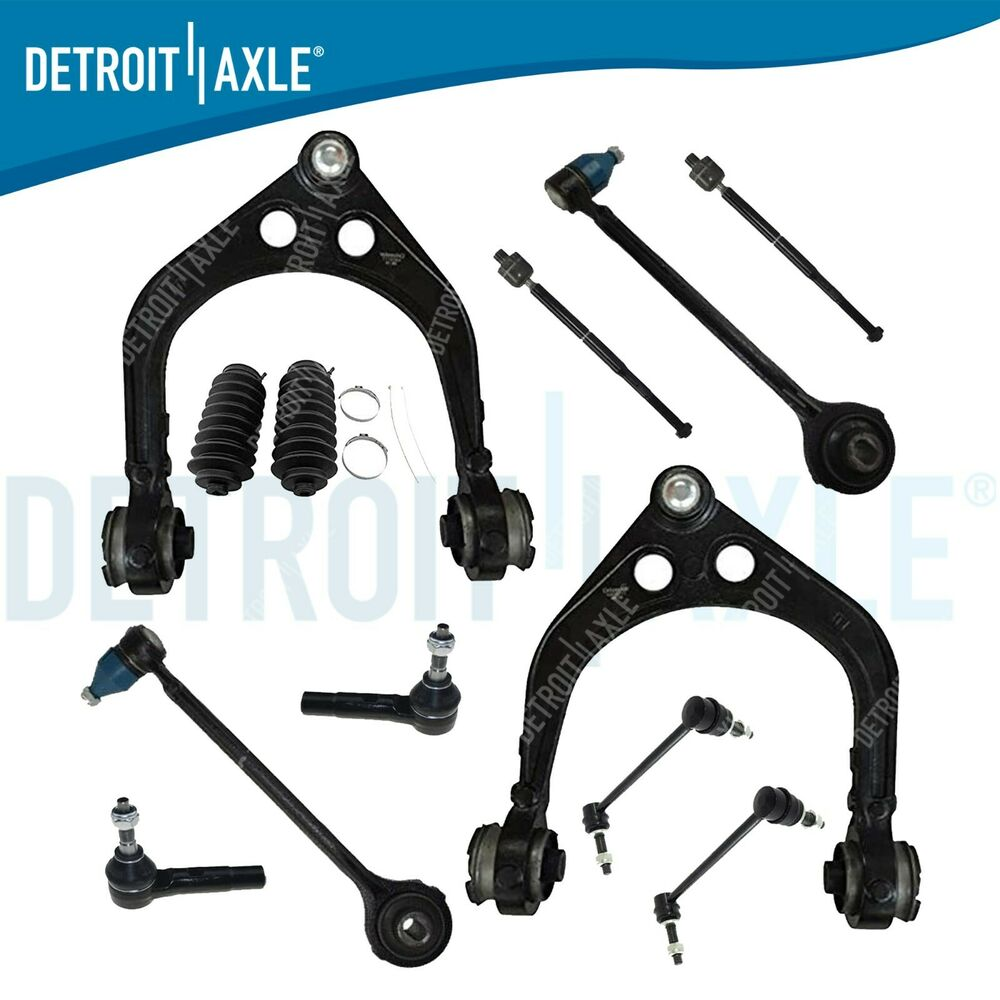 Front Suspension: NEW 12pc Complete Front Suspension Kit For Charger Magnum