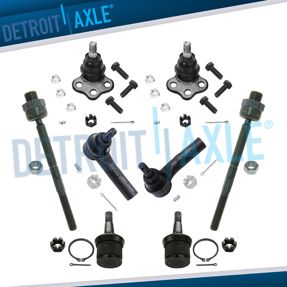 new 8pc complete front suspension kit for dodge durango. Black Bedroom Furniture Sets. Home Design Ideas
