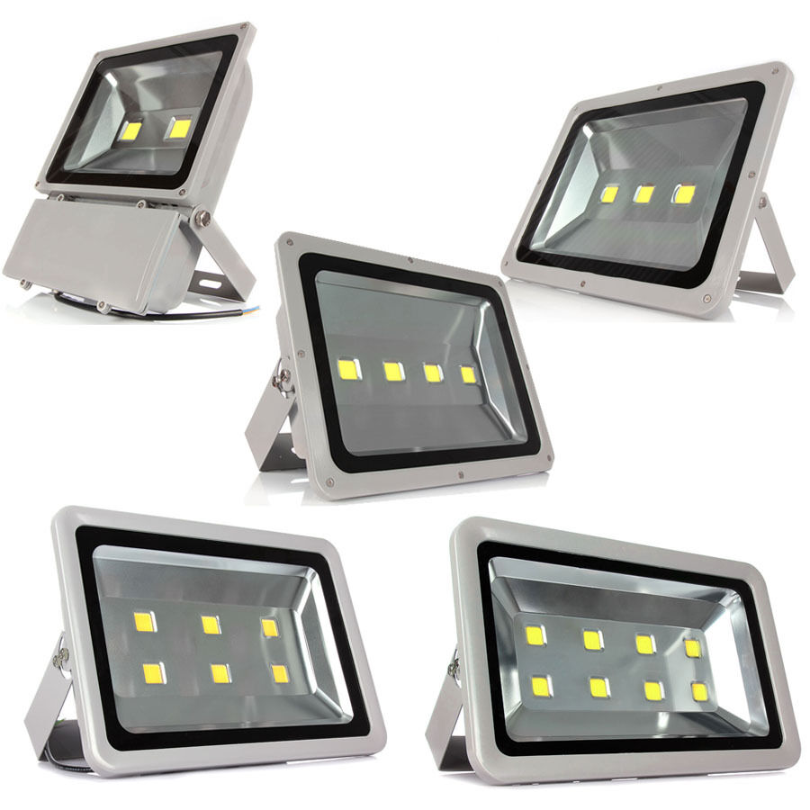 100w 400w led flood light wall lamp spot light 110v 220v. Black Bedroom Furniture Sets. Home Design Ideas