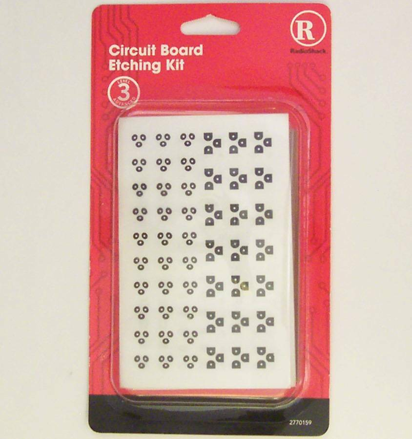 Pcb Printed Circuit Board Etching Kit Level 3 Advanced