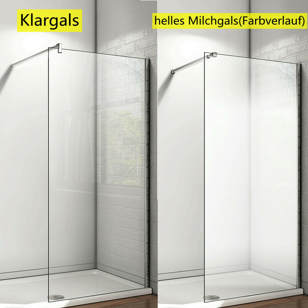 walk in dusche duschwand duschabtrennung 8mm nanoglas. Black Bedroom Furniture Sets. Home Design Ideas