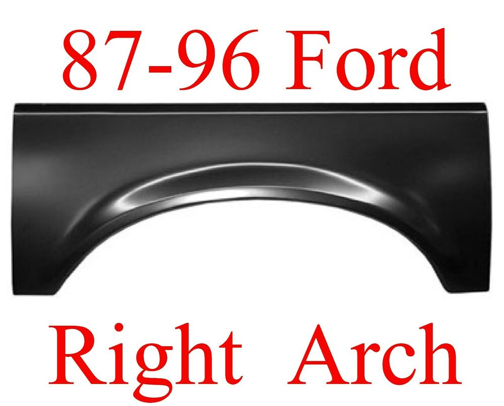 87 96 ford right upper arch repair panel truck bronco for 1998 ford f150 rear window replacement