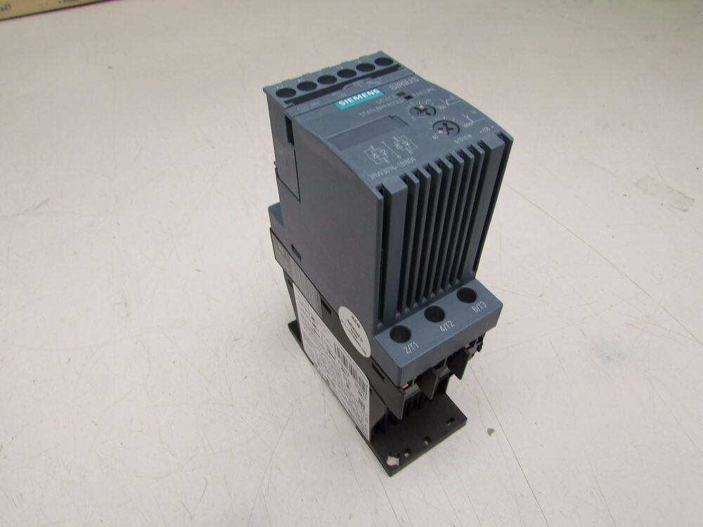 Siemens sirius 3rw3016 1bb04 soft start ac semiconductor Ac motor soft start