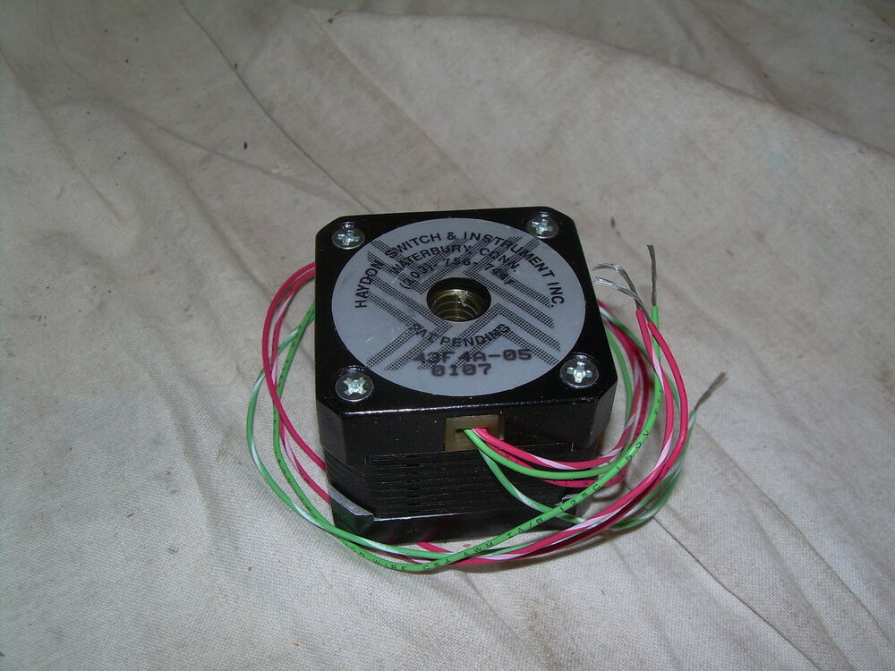 Haydon Switch Co Stepper Motor 43f4a 05 0107 New No Box