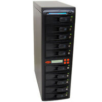 SySTOR 1:9 SATA Hard Disk Drive (HDD/SSD) Duplicator/Sanitizer Wipe/Data Copy