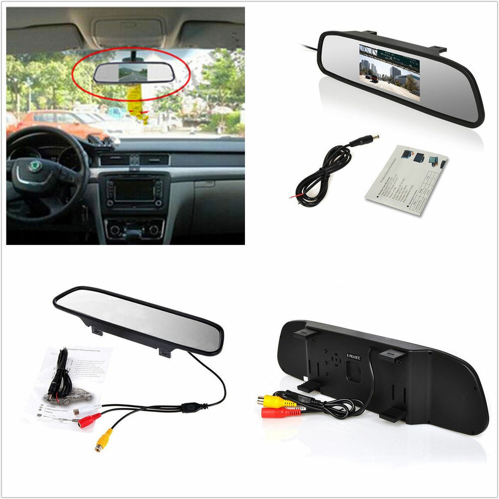 Sunshade 43 Inch Lcd Car Reverse Parking Camera Rearview Digital 1992 Infiniti G20 Problems Monitor Screen 4683812898292 Ebay
