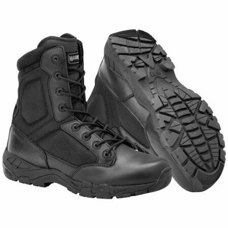 img-MAGNUM VIPER PRO 8.0 BOOTS EN TACTICAL MILITARY SECURITY POLICE FOOTWEAR BLACK
