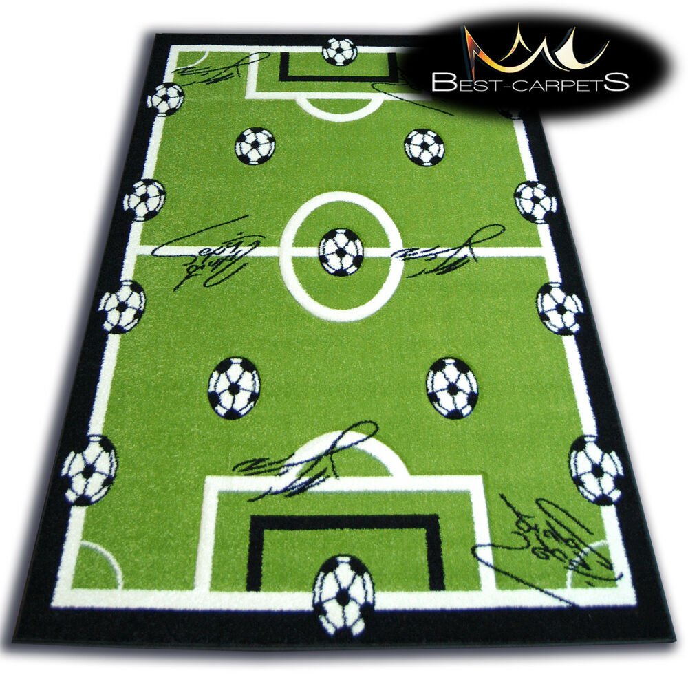 THICK RUGS 'PILLY' CARPETS FOOTBALL PITCH FOR KIDS BALL