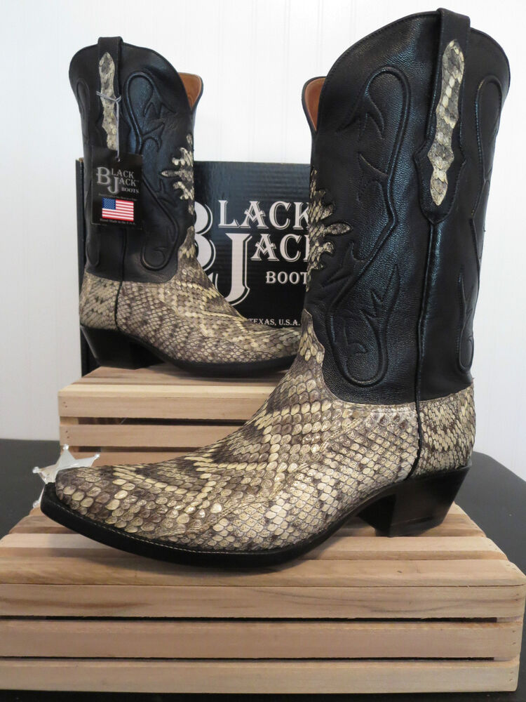Black jack boots on ebay