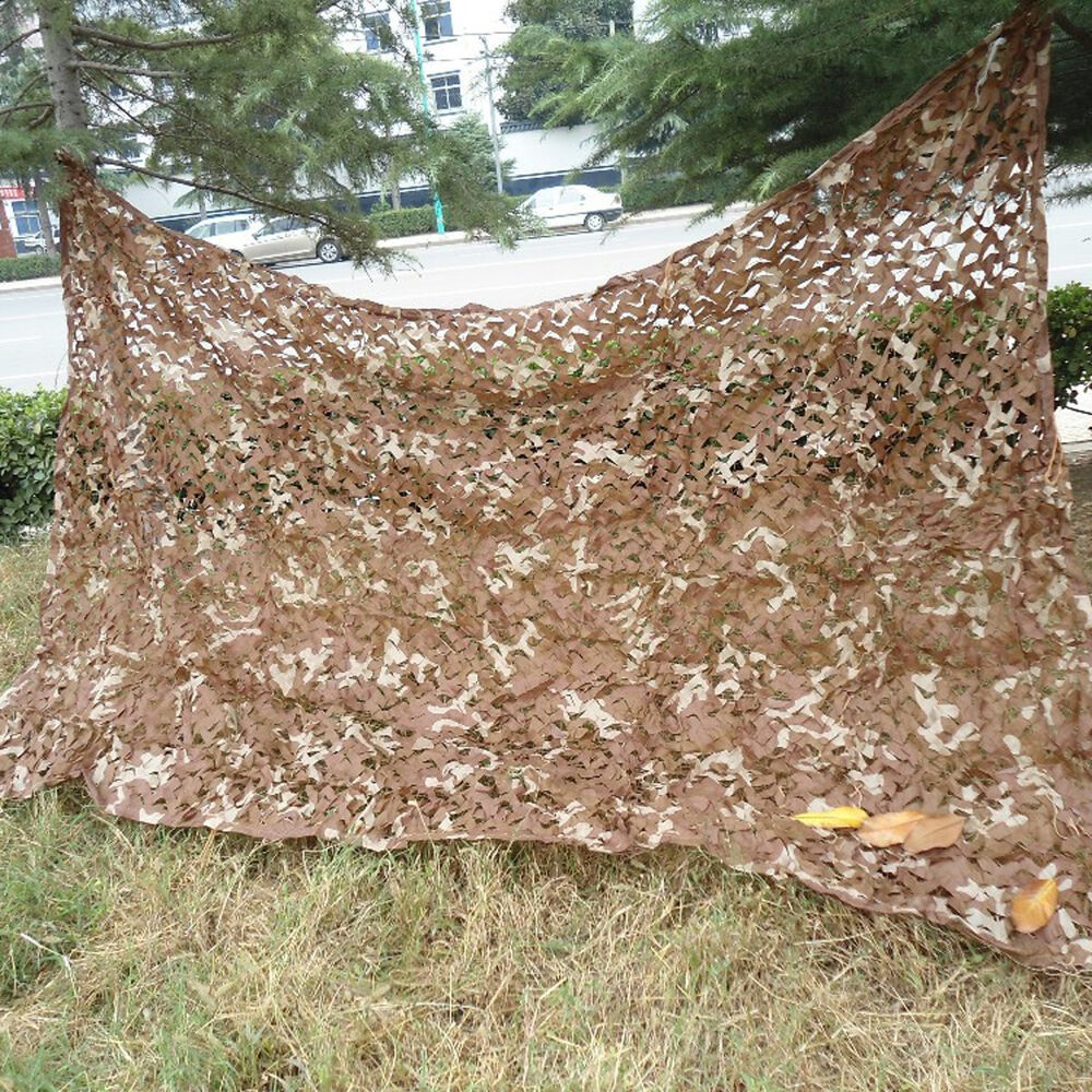 2mx3m Military Desert Camouflage Net Camo Netting For