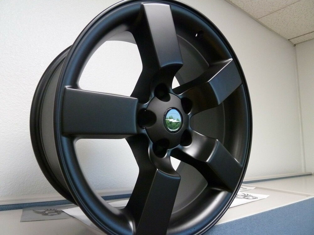 20 Quot Satin Black Fits Ford Lightning Wheels Expedition Set 4 F150 Rims 1997 2004 Ebay