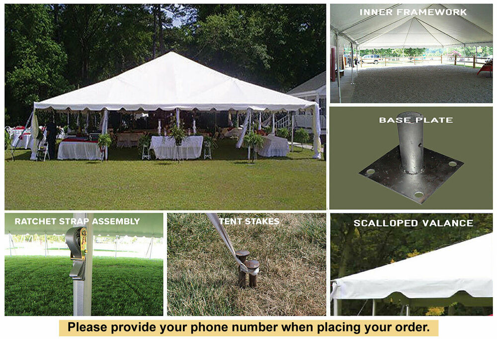 40x60 White Vinyl Classic Frame Tent For Wedding Outdoor