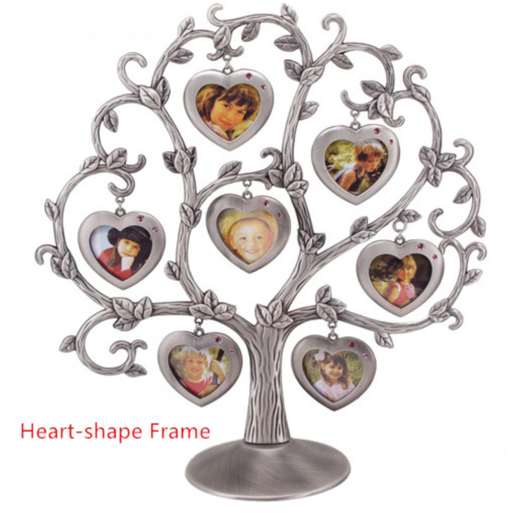 Family Tree Photo Frame Baby Ancestry Gift Rustic Home