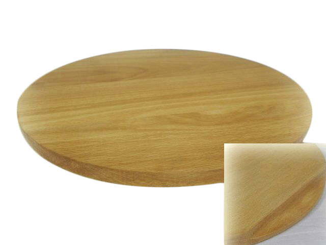 round circular wooden chopping board cutting serving pizza solid wood 40cm 40 cm ebay. Black Bedroom Furniture Sets. Home Design Ideas