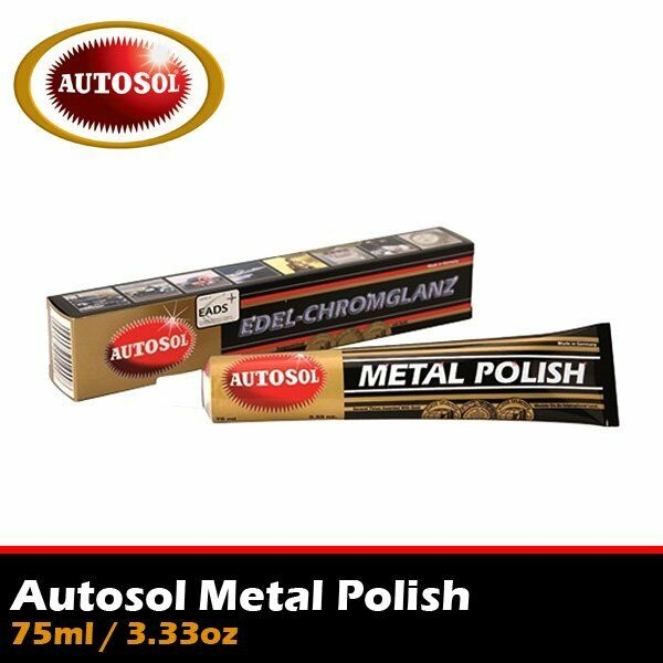 autosol metal polish cleaner aluminium chrome metal 75ml. Black Bedroom Furniture Sets. Home Design Ideas