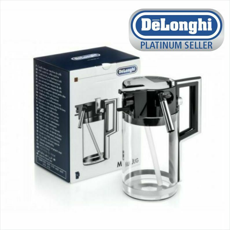 Delonghi Coffee Maker O Rings : Delonghi 5513294531 ESAM Espresso Machine Milk Carafe Jug Genuine eBay