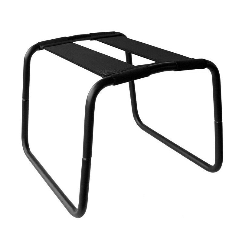 Sex chair roomfun stainless steel height adjustable sex loving stool