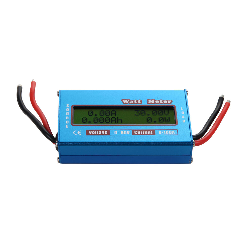 Backup Battery For Amp Meter : Digital lcd watt meter power volt amp v rc battery