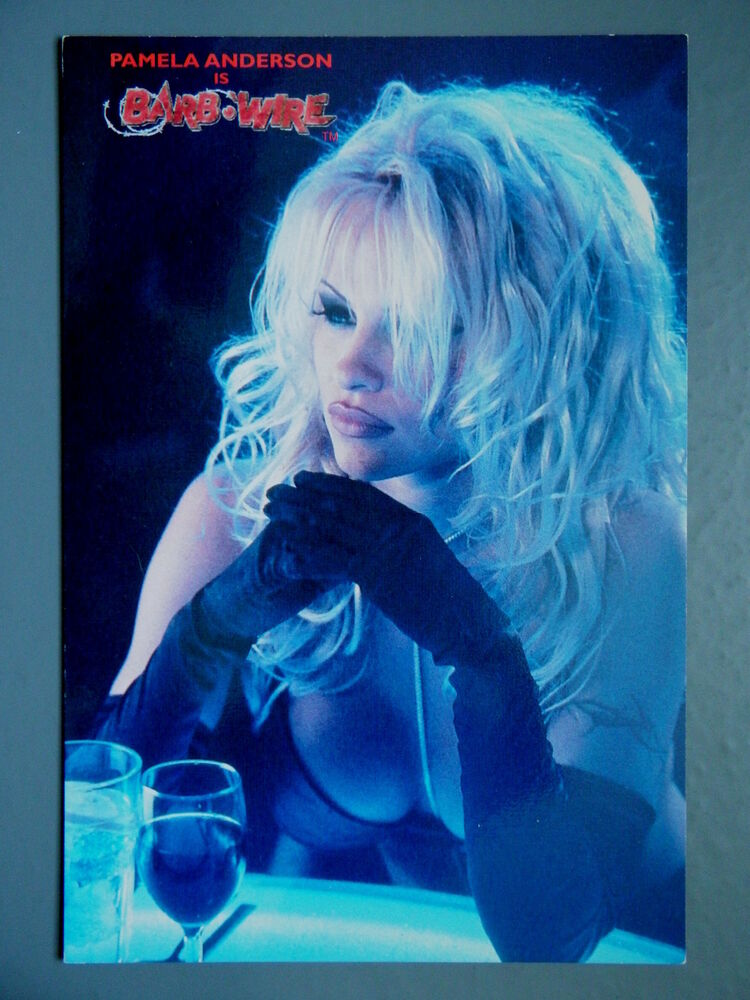 R&L Modern Postcard: Barb Wire Pamela Anderson Film, Big Splash | eBay