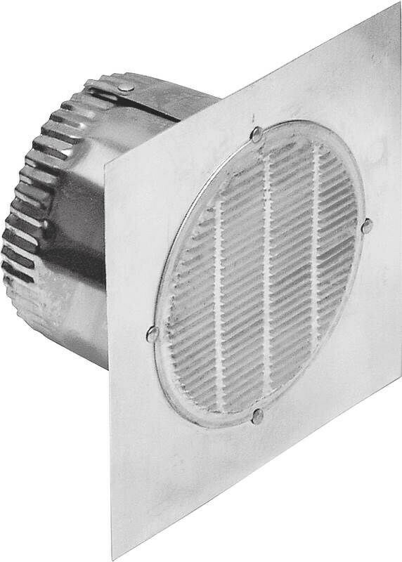 Lambro 141 3 aluminum bath fan vent by lambro industries for 3 bathroom exhaust vent