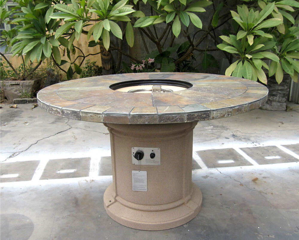 New 2016 Outdoor Natural Slate Fire Pit Outdoor Dining  : s l1000 from www.ebay.com size 1000 x 803 jpeg 151kB