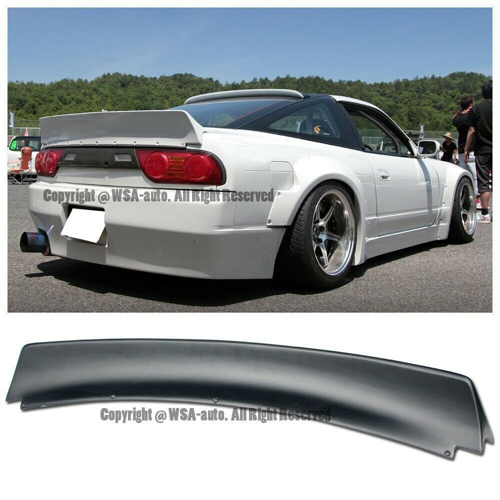 RB BUNNY STYLE REAR SPOILER FOR NISSAN 240SX S13 89-94 WING ABS TRUNK  SPOILER | eBay