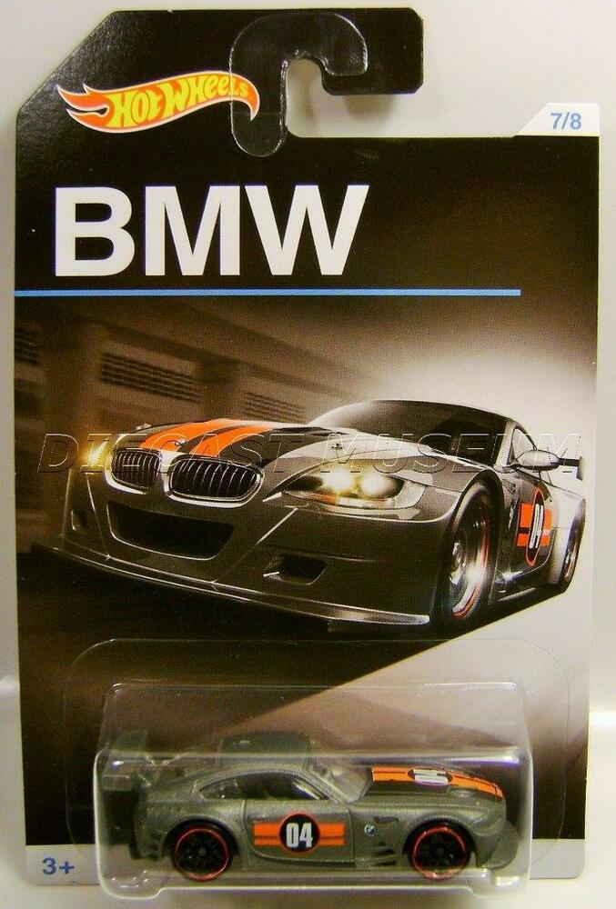 Bmw Z4 M Race Car 7 8 Bmw Series Hot Wheels Hw Diecast