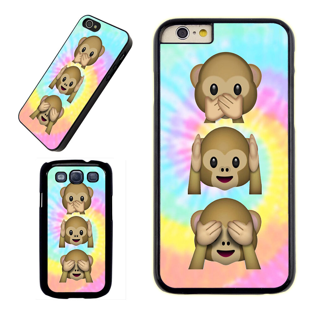 cute iphone 5c cases emoji monkey boys cover iphone 6s 4s 13931