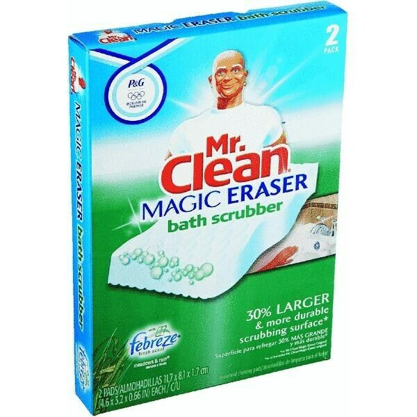 Mr Clean Magic Eraser Bath Scrubber By Procter Amp Gamble