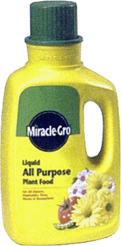 Miracle gro liquid all purpose plant food by scotts Miracle gro all purpose garden soil