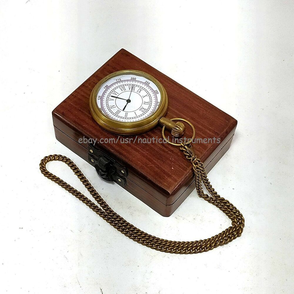 Antiques Collectibles: Vintage Antique Brass Titanic Pocket Watch Collectible