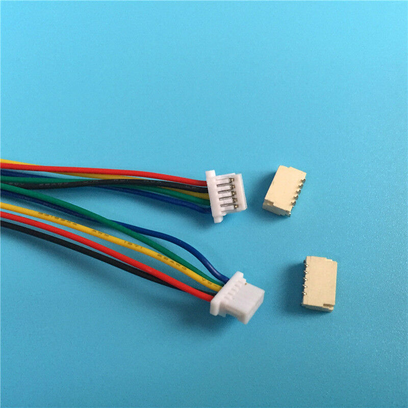 10 sets jst sh 1 0mm 5 pin connector plug male female with wire 100mm ebay. Black Bedroom Furniture Sets. Home Design Ideas