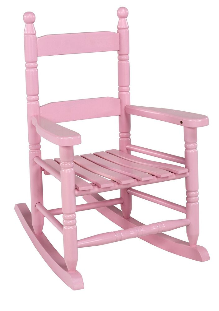 Child S Pink Rocking Chair No Kn 10p Jack Post Corp Ebay