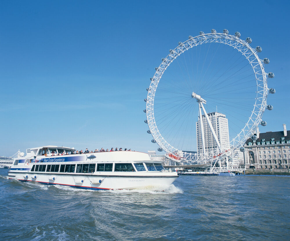London Eye Ride & Thames River Boat Cruise for Two
