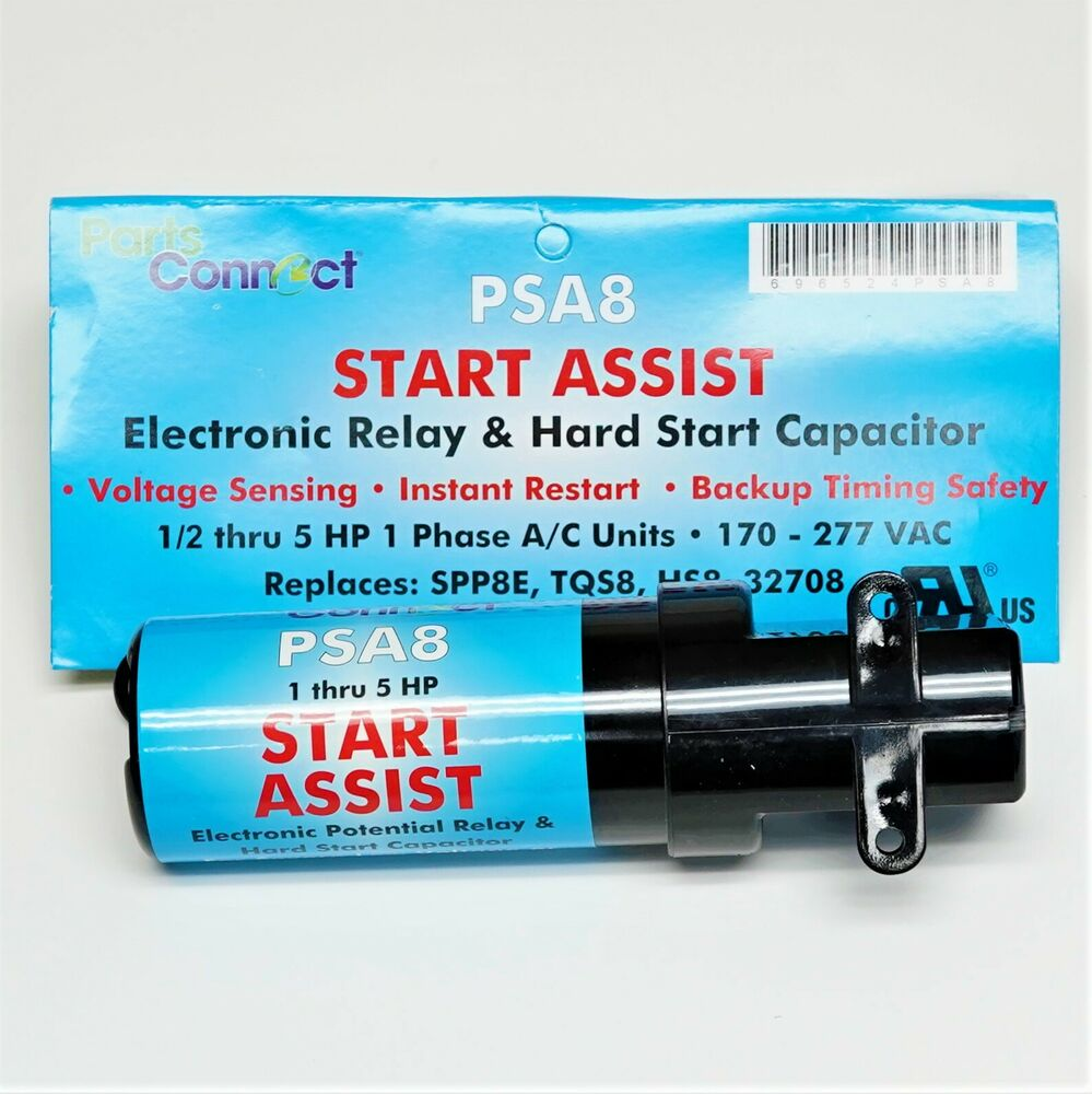 Hvac Air Conditioning Electronic Relay Hard Start