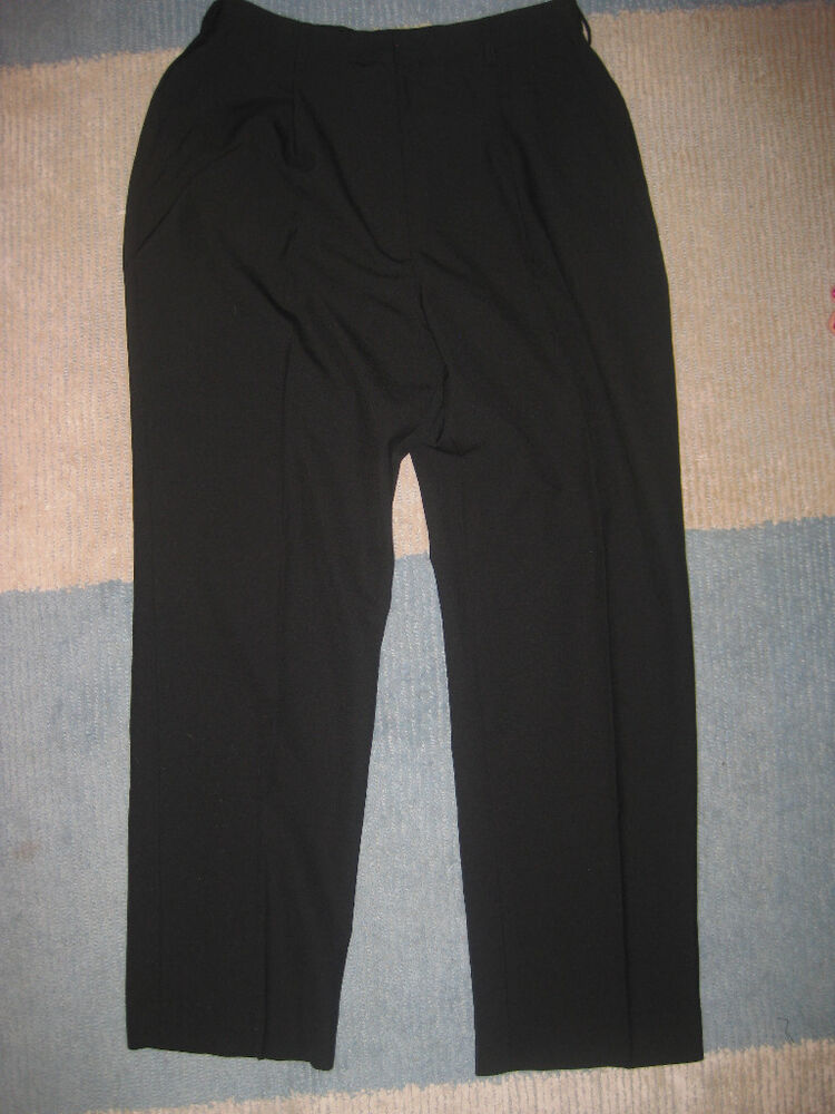 Womens Pants Cintas Black 16 18 20 22 24 26 28 32 Petite