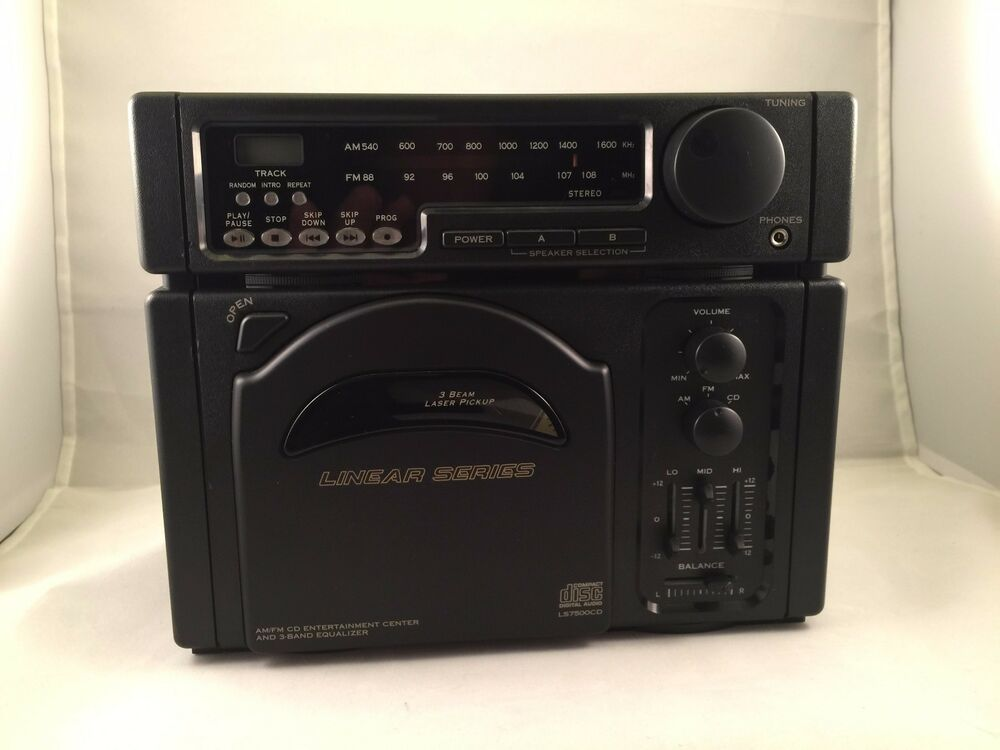 ls7500 rv cd player am fm radio magnadyne black in wall rv camper ls7600 size ebay. Black Bedroom Furniture Sets. Home Design Ideas