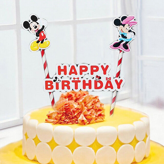 Mickey Mouse Cake Topper Kit