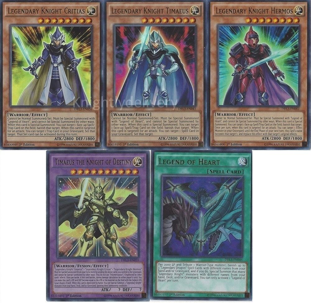 legendary knight deck legend of heart critias eye of