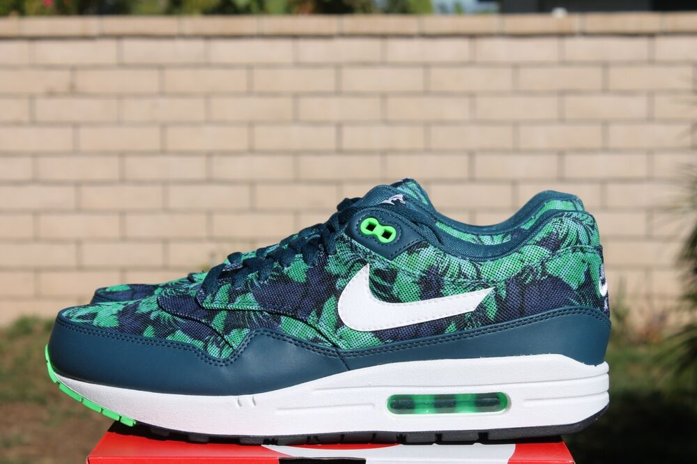 the best attitude c45ee 3bb37 ADIDAS CLIMACOOL 02 17 NIKE AIR MAX 1 GPX SZ 11.5 SPACE BLUE WHITE BLACK  JADE TROPICAL 684174 400 ...